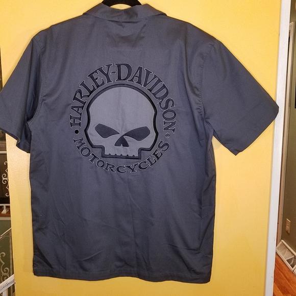 Harley-Davidson Other - Harley Davidson casual button short sleeve shirt